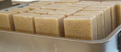 Soaps curing small